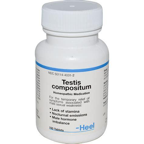 Heel BHI, Testis Compositum, 100 Tablets   iHerb.com