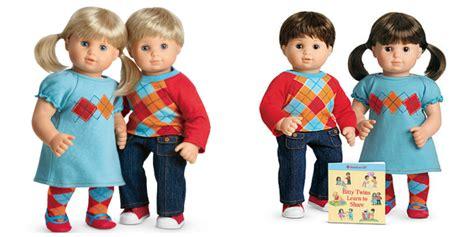 Twins Giveaways - american dolls twins baby dolls ideas