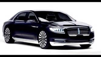 new lincoln cars new lincoln continental luxury car comes 2017