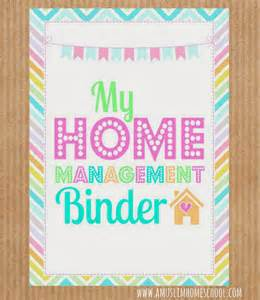 home management binder templates free a muslim homeschool free home school binder printables