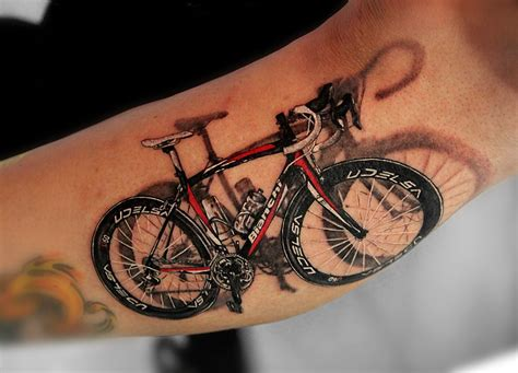 bicycle tattoos design 40 cool mountain bike tattoos