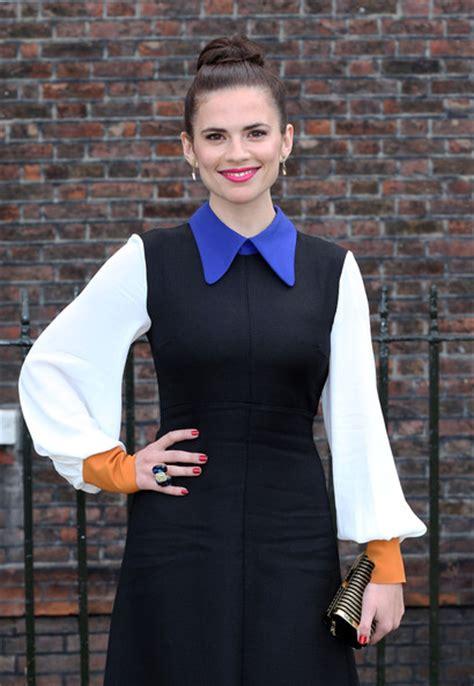 captain america actress wallpaper captain america photos photos actress hayley atwell seen