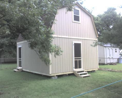 2 story shed images