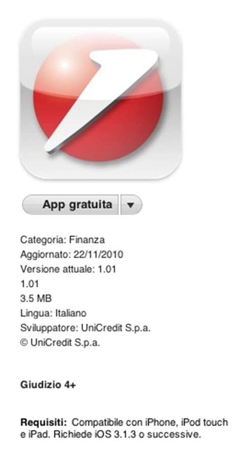 unicredit codice di adesione unicredit l applicazione ufficiale arriva su iphone