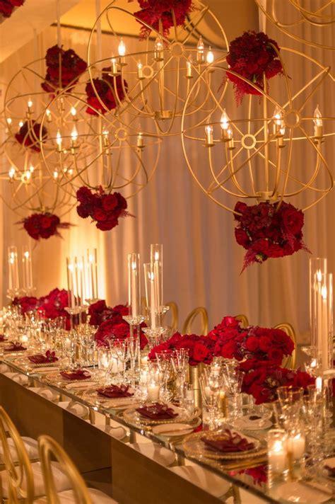 glam  modern wedding event  floral design