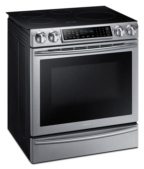 Samsung Induction Range by Samsung 5 8 Cu Ft Slide In Induction Range Ne58k9560ws