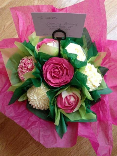 How To Make A Bouquet Of Roses With Paper - cupcake bouquet tutorial with the whoot