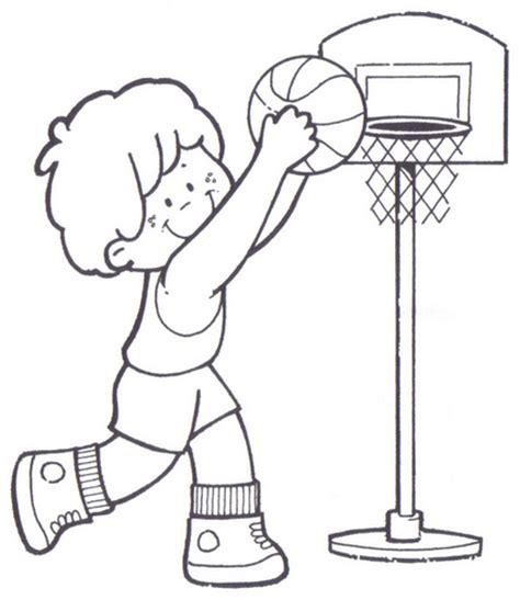 imagenes niños haciendo deporte para colorear ni 241 os a haciendo deportes para colorear imagui