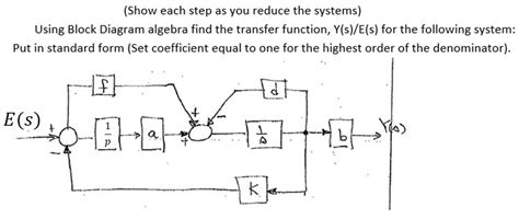 Solved Show Each Step As You Reduce The Systems Using B