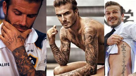 david beckham new tattoo david beckham tattoos