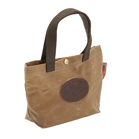 Handmade Lunch Bags - waxed canvas lunch bag by river handmade usa