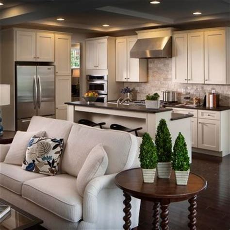 open concept kitchen living room small space best 25 small open kitchens ideas on pinterest open
