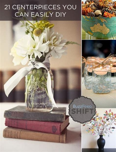 diy table centerpiece ideas diy beautiful centerpieces just imagine daily dose of