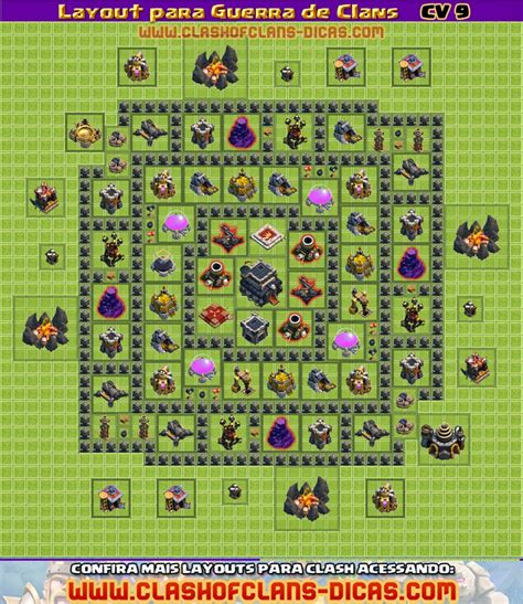 layout cv guerra 9 layouts cv9 para a guerra de clans clash of clans dicas