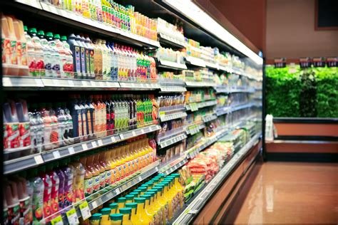 sections in the supermarket supermarket c02 solution commercial food refrigeration