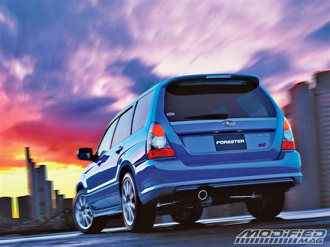 modified subaru forester building your own subaru forester sti modified magazine