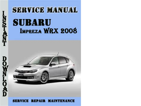 service repair manual free download 2010 subaru impreza wrx head up display subaru impreza wrx 2008 service repair manual pdf download downlo