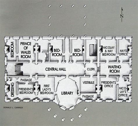 white house residence floor plan white house floor plan truman reconstruction white house