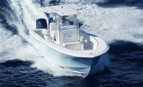 invincible boats shirts 33 open fisherman class leader in rough water