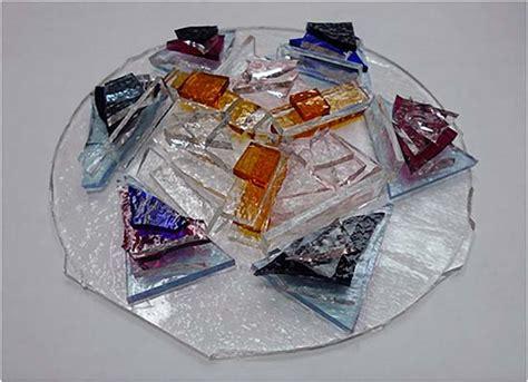 Pressed Glass Vases Kiln Pressed Glass