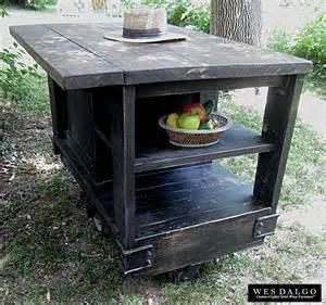 Black Distressed Kitchen Island 28 distressed black modern rustic kitchen
