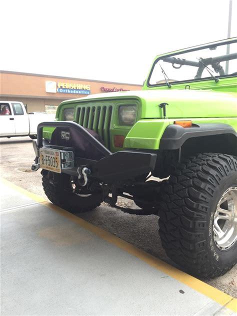 Jeep Cj7 Insulator Silver Alum rock 4x4 aluminum patriot series width front bumper for jeep cj5 cj7 cj8 yj tj