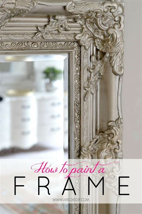 diy mirror frame tips and how to paint a mirror frame to give it depth and dimension