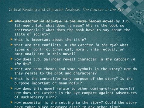 catcher in the rye theme lack of communication the catcher in the rye2003