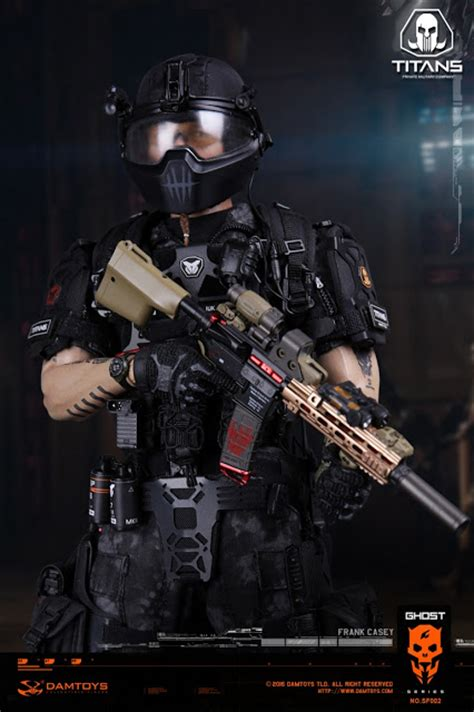 toyhaven: Incoming: Dam Toys 1/6th scale Ghost series   Titans PMC   Frank Casey 12 inch action