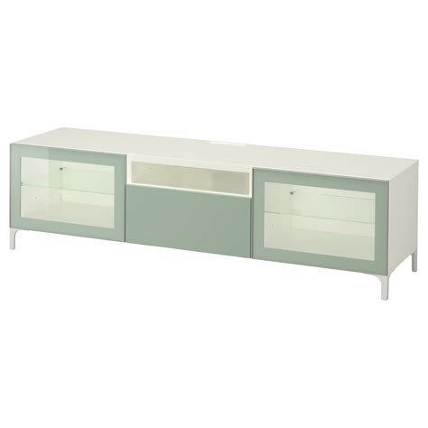 white gloss tv bench best 197 tv bench white selsviken high gloss light grey green