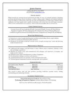 Travel Counselor Sle Resume click here to this travel resume template