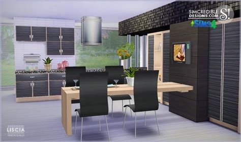 Hair Style Tools Name In Kitchen by Sims 4 Liscia Kitchen
