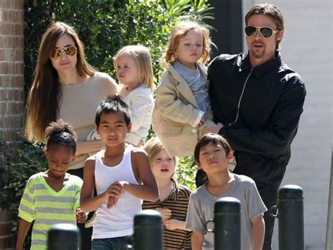 New Photo Of The Pitt Family cinema my and brad pitt adopt another