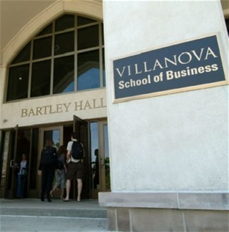 Villanova Mba Reputation by Villanova School Of Business Ranked 15 In The Nation By