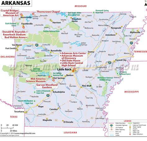 map of arkansas and vacant land for sale near lake in