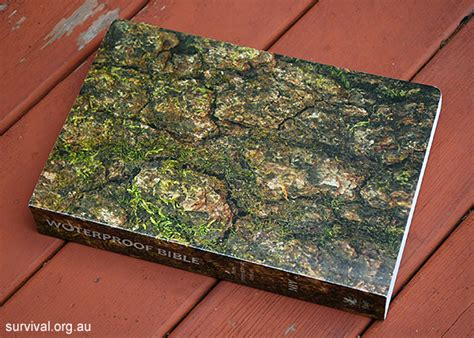 Waterproof Book Covers by Waterproof Bible A Review Of The Waterproof Bible By