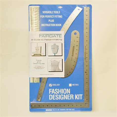 general pattern ruler kit fairgate 15 102 fashion designer s kit set of rulers