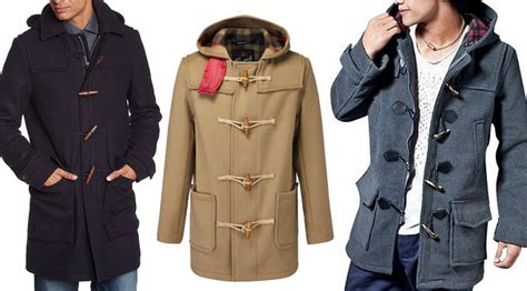 Patio Furn Mens Wool Duffle Coat Choozone