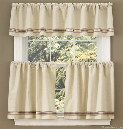 house curtain farm house curtain valance tiers