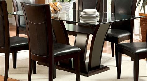 manhattan i dark cherry oval pedestal dining room set manhattan i dark cherry pedestal dining room set from