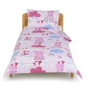 peppa pig toddler bed set buy peppa pig junior bed bedding set from our baby bedding