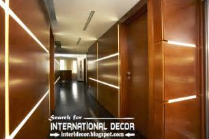 Modern Wood Wall modern wood wall panels and paneling for walls with led lights