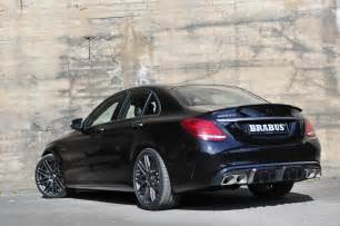 brabus gives mercedes amg c63 s 600ps and 800nm for frankfurt