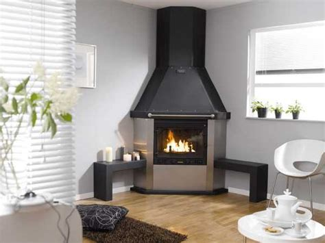 how to decorate empty space next to fireplace corner fireplaces offering unique decorative accents for space saving interior design