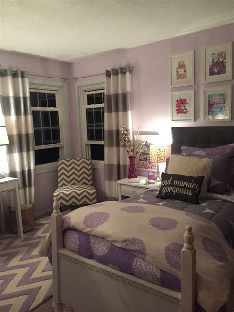 bedroom lavender lavender and grey teen bedroom for the home pinterest