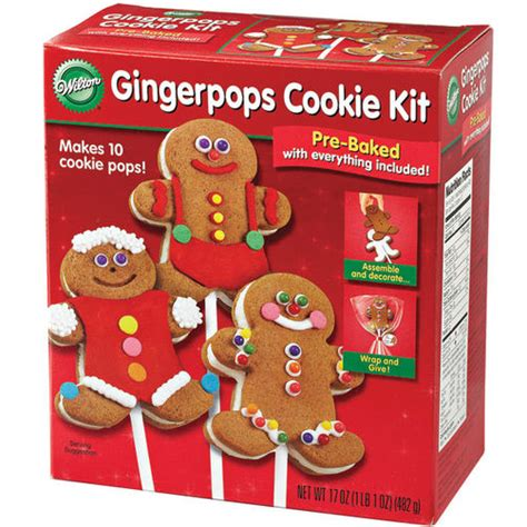 Cookie Decorating Kit by Gingerpops Cookie Kit Wilton