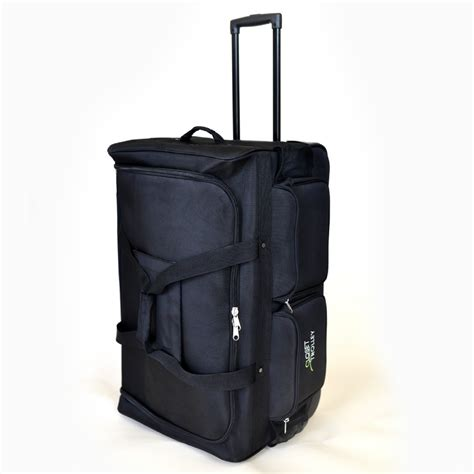 Duffel Bag With Garment Rack by The Closet Trolley Rolling Duffel Bag Bag With
