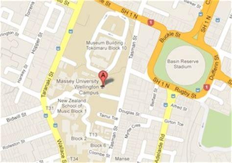 maps parking  transport massey university