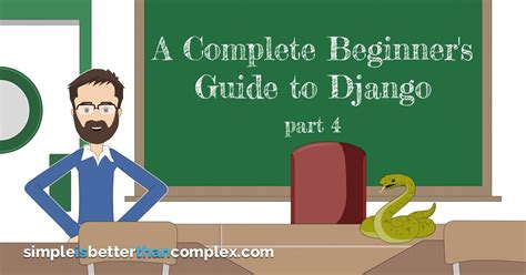 django tutorial part 7 a complete beginner s guide to django part 4