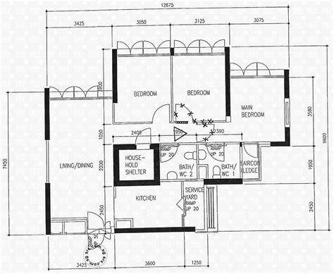 floor plan hdb ghim moh link hdb details srx property